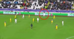Madridli yıldızın bu görüntüsü olay oldu! UEFA soruşturma başlattı
