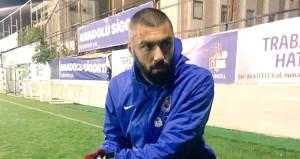 Trafik kazası geçiren Burak Trabzona döndü, çalışmalara başladı