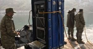 TSK baraj gölünde özel cihazla arama başlattı!