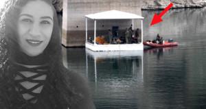 2 haftadır kayıp olan üniversiteli kız, barajda ROV ile aranıyor