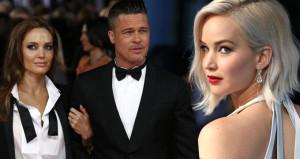 Angelinayı çabuk unuttu! Brad, gönlünü 27lik güzele kaptırdı