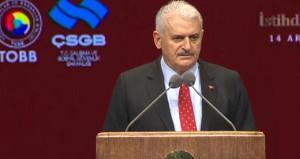 Başbakan Yıldırım: Ülkeler iflas ederken Türkiye büyümeye devam etti