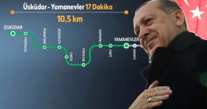 İlk sürücüsüz metronun açılışında müjdeyi verdi: Bin kmye ulaşacak