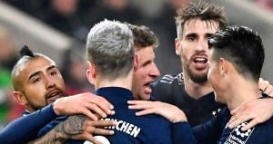 Beşiktaşın rakibi Bayern Münih zor da olsa kazandı