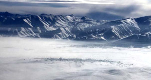Bu kare Türkiyede çekildi! 68 bin nüfusluk ilçeyi kar yuttu