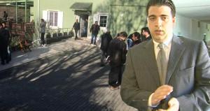 Oğlunu kaybeden Mesut Yılmaz'ın evine ziyaretçi akını