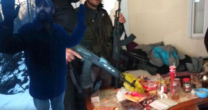 Terörist gösterdi, PKK'nın Giresun'daki erzak zulası patlatıldı