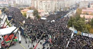 On binlerce Diyarbakırlı Kudüs için sel oldu aktı!