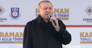 Erdoğandan Karamanlılara havalimanı müjdesi: 2020de uçakla ineceğiz