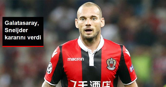 Galatasaray, Sneijder kararını verdi