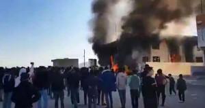 Barzani'ye büyük şok! Parti binasını ateşe verdiler