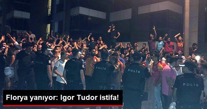 Florya yanıyor: Igor Tudor istifa!