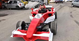 Yozgatlı kaportacı 9 bin liraya yaptı: Formula 66