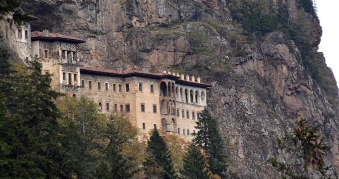 ABD askerleri Sümela Manastırı'nı soymuş