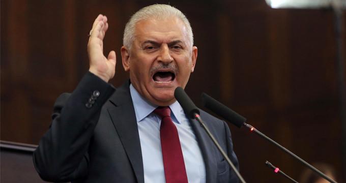 Başbakan Yıldırım'dan ABD'ye eleştiri: Bize karşı ordu kuruyor