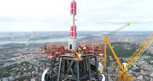 Dev projede sona yaklaşıldı! Eyfel Kulesinden yüksek olacak