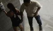 Kameraya yakalandı! Spordan dönen kadını evinin önünde taciz etti