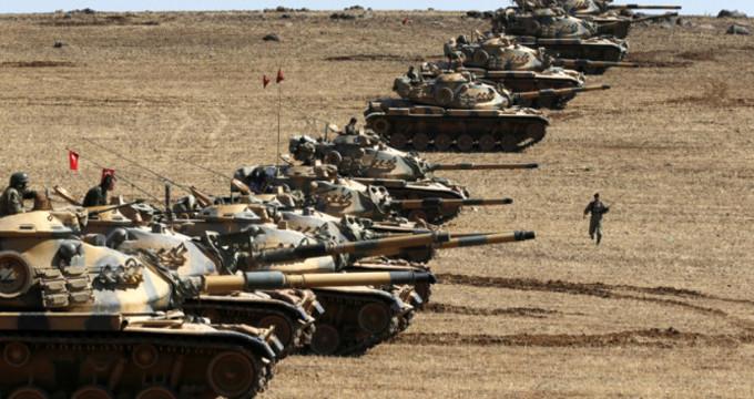 Afrin üç koldan kuşatma altında! ÖSO askerleri, ilk hedefe kilitlendi