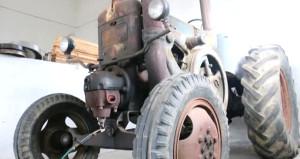 Avrupalılar sıraya girdi! Antika traktör, 50 bin euroya satışa çıktı