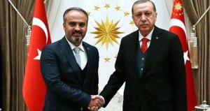 Çiçeği burnunda başkan, yeni Bursa için projelerini Erdoğana sunacak
