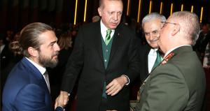 Efsane olacak yeni dizinin galasına bizzat Erdoğan katıldı