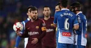 Barcelonanın 29 maçlık serisi güme gitti