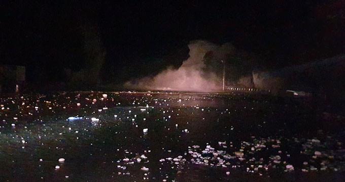 Karadeniz'in incisi kabusu yaşadı! 30 metrelik dalgalar araçları yuttu