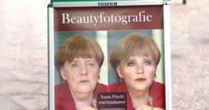 Merkeli gençleştirdi, genç fotoğrafçının ilanı büyük ilgi çekti