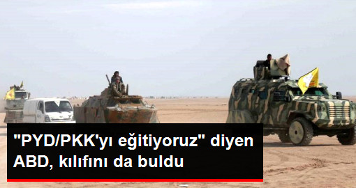PYD/PKKyı eğitiyoruz diyen ABD, kılıfını da buldu