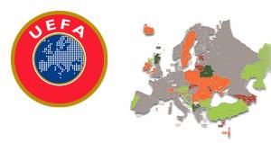 UEFA kara tabloyu açıkladı, 3. sırada Türkiye var