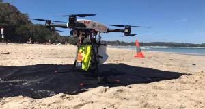 Uzaktan kumandalı cankurtaran! Boğulan 2 gencin yardımına drone koştu