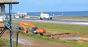Facianın kıyısından dönen Trabzon Havalimanı, tekrar uçuşlara açıldı
