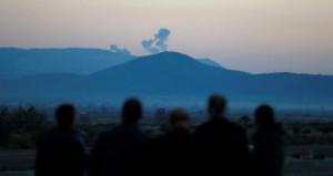 Afrin'deki PYD/PKK militanları böyle bombalandı!