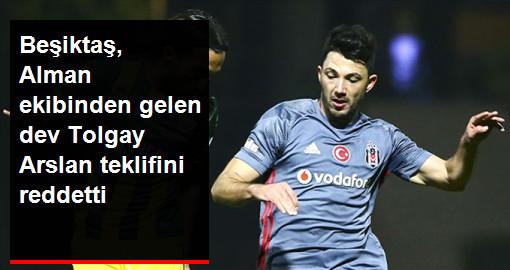 Beşiktaş, Bayer Leverkusen'in 10 Milyon Euroluk Tolgay Arslan Teklifini Reddetti