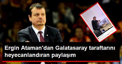 Ergin Ataman'dan Heyecanlandıran Galatasaray Paylaşımı: Başkanlık Yolunda İlk Tecrübe