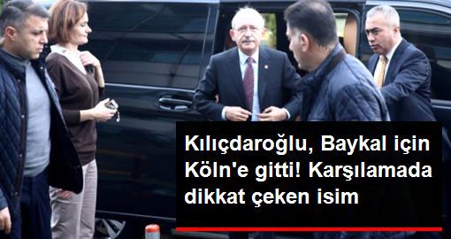 Kılıdaroğlu, Baykal'ı Ziyaret Etmek İçin Köln'e Hareket Etti! Karşılamada Canan Kaftancıoğlu da Bulundu