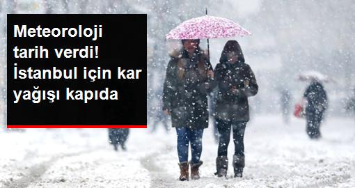 Meteoroloji Tarih Verdi: İstanbul'a Kar, Sömestr Tatilinin İlk Haftası Yağacak