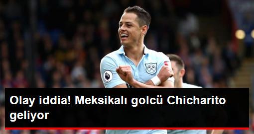Meksikalı Golcü Chicharito Beşiktaş'a Geliyor