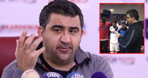 Ümit Özatın maç konuşması, sosyal medyayı salladı!