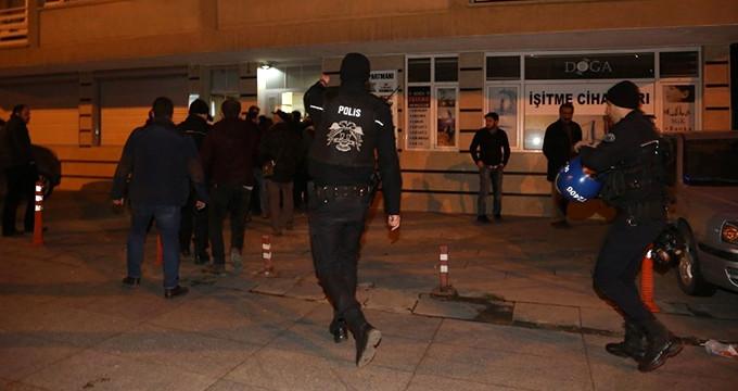 Erdoğan uyarmıştı, polisi gören HDP'liler arkalarına bakmadan kaçtı