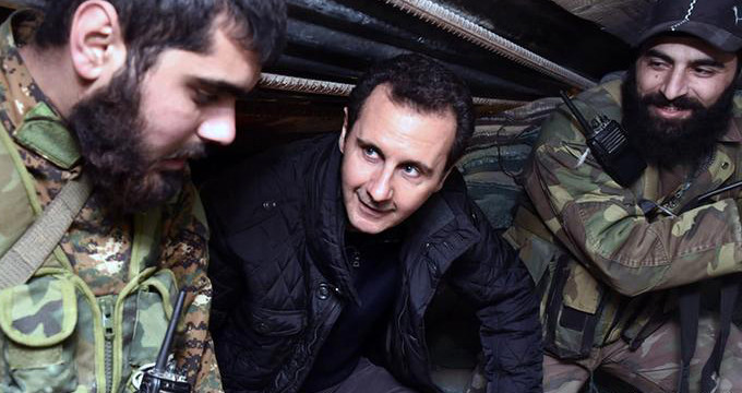 Harakatın başlamasının ardından Esad, teröristlere yardım eli uzattı