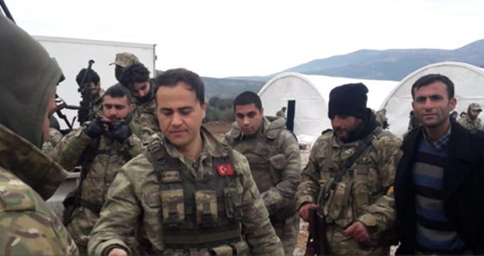 İşte Afrin'e giren Türk askerlerinden ilk görüntüler