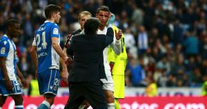 Ronaldo korkuttu! Kanlar içinde kaldı, maçı tamamlayamadı