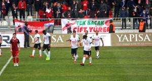 Ümraniyespor, zor günler geçiren Gaziantepspora gol yağdırdı