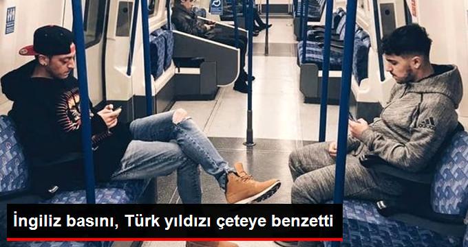 İngiliz basını, Türk yıldızı çeteye benzetti