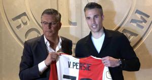 Kabus bitti, Robin van Persie resmi imzayı attı
