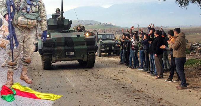 Mehmetçik, YPG paçavralarını ayaklarının altında çiğnedi