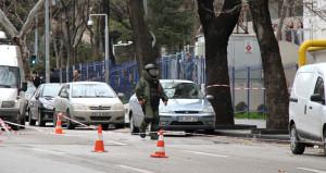 Ankara'da şüpheli çanta polisi alarma geçirdi! Fünye ile patlatıldı
