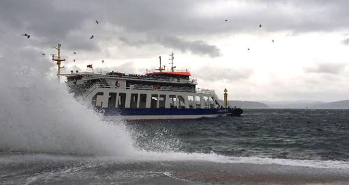 Deniz trafiğine hava muhalefeti! İDO ve BUDO'da bazı seferler iptal