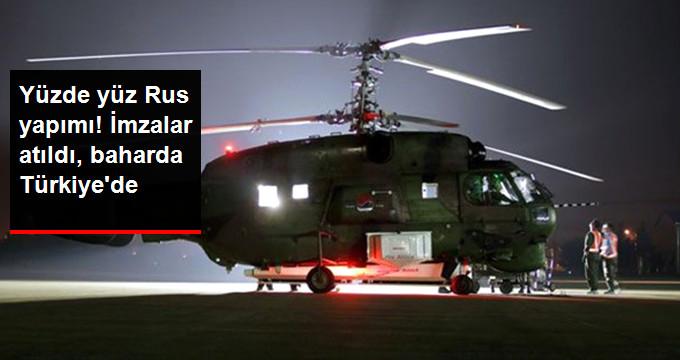 Ka-32 Helikopterleri İçin İmza Atıldı, Bahardan İtibaren Engel Kalkıyor